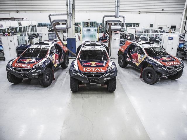 Peugeot Sport - 2015 - Retorno en Rallye Raid Peugeot 2008DKR15