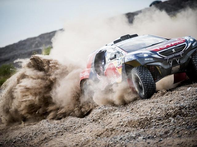 Peugeot Sport - Dakar 2015 Peugeot 2008DKR15
