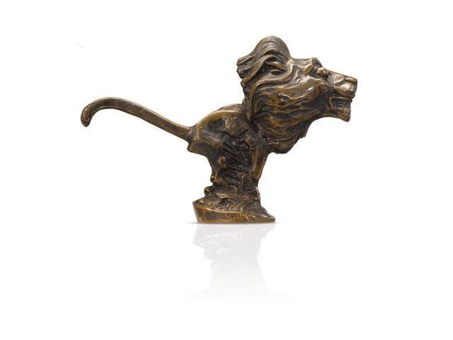 Los leones Peugeot – 1923, el león obra del escultor Baudichon