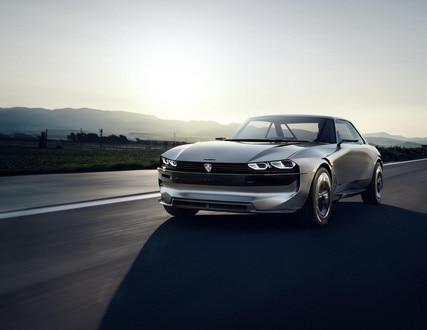PEUGEOT e-LEGEND CONCEPT: el coche autonom 100% electric