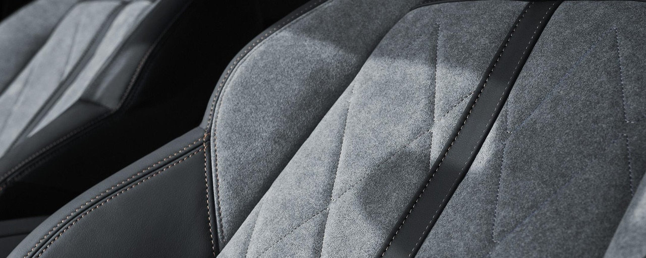 Forro Alcantara® Grey Gréval exclusivo