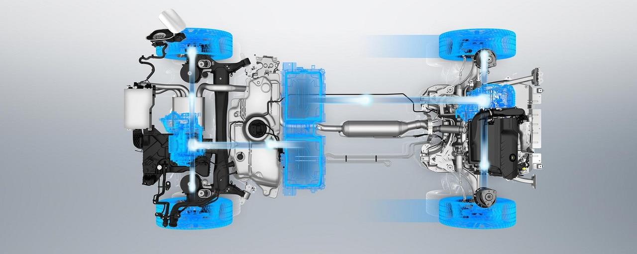 PEUGEOT 3008 GT HYBRID4: Modo 4WD en eléctrico
