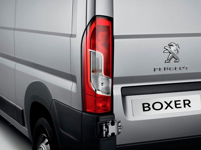 Peugeot Boxer Trasero