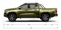 Nuevo pick-up PEUGEOT LANDTREK dimensiones cabina doble