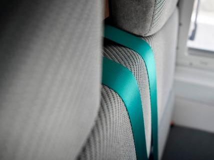PEUGEOT BOXER 4x4 CONCEPT : los cinturones abandonan su monotonía y también adoptan el MINT.