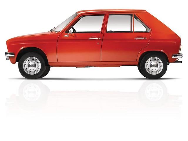 El automóvil – 1972, el Peugeot 104, la berlina de cuatro puertas más pequeña del mundo