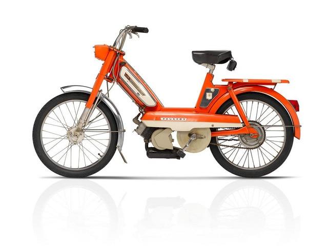Bicicletas y motos – 1974, récord de ventas en ciclomotores