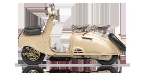 Bicicletas y motos – 1955, lanzamiento del scooter S55
