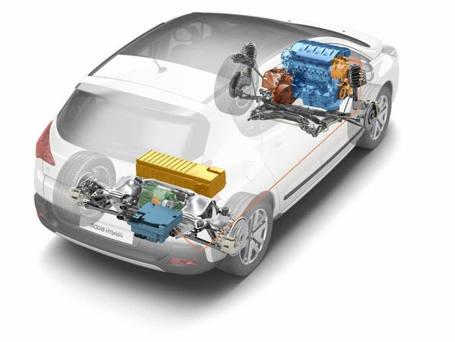 Dos siglos de innovación – El motor Full Hybrid4 con el que va equipado el 3008